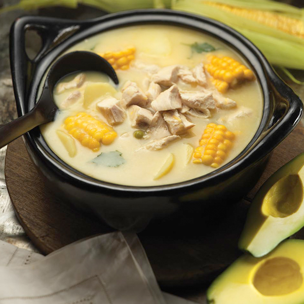 ... Ajiaco Santafereño - Chicken and Potato Soup | Ancient Cookware